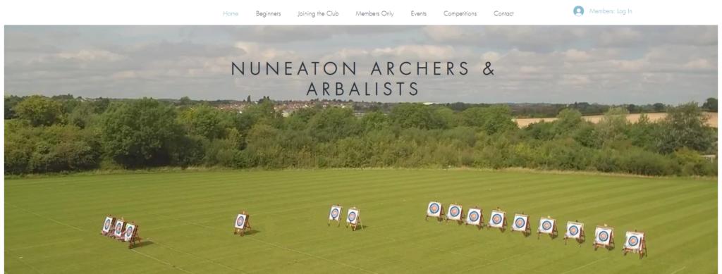 Link to Nuneaton Archers website